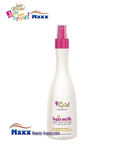 Soft & Beautiful Just for Me Kids Hair Milk Straightening Mist 10oz Bottle