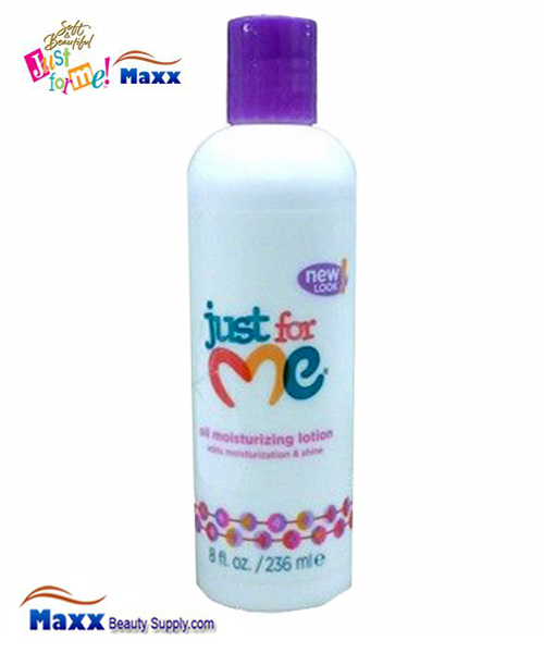 Soft & Beautiful Just for Me Kids Oil Moisturizing Lotion 8oz Bottle