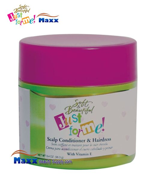 Soft & Beautiful Just for Me Kids Scalp Conditioner & Hairdress 3.4oz Jar