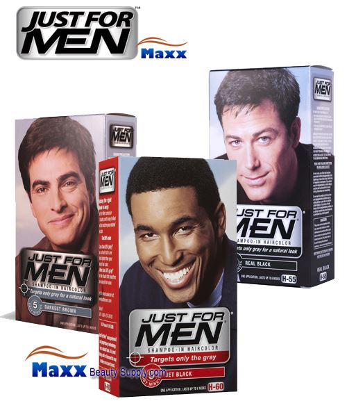 Just For Men Shampoo In Hair Color Kit