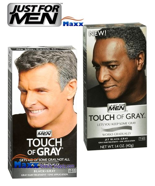 Just For Men Touch of Gray Gray Hair Treatment Kit