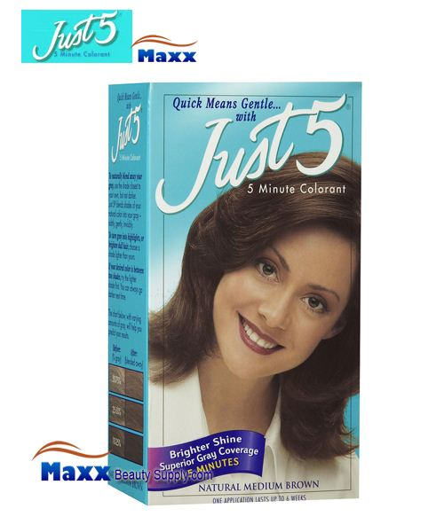 Just 5 Hair Color Kit Color Gray Right After You Relax