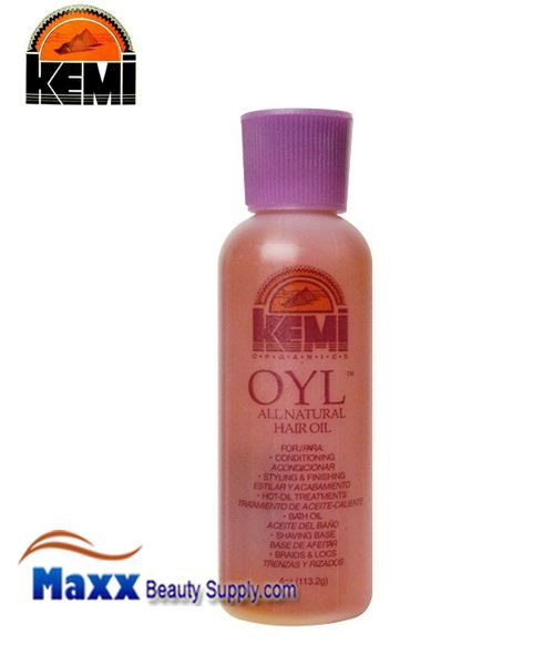 Kemi Oyl All Natural Hair Oil 4 Oz