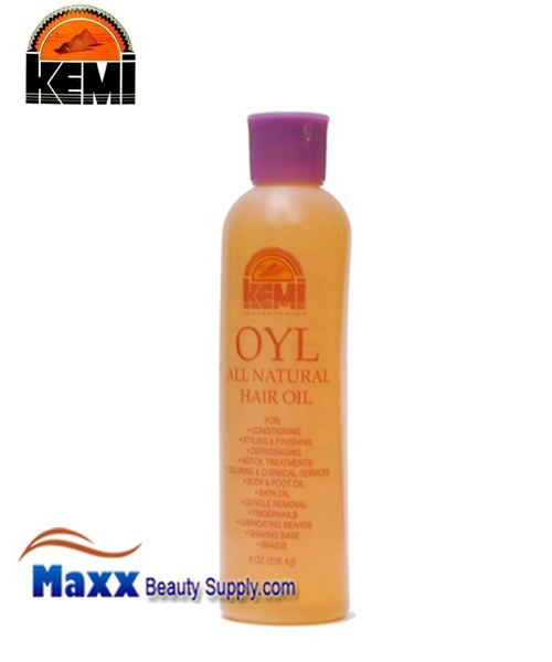 Kemi Oyl All Natural Hair Oil 8 Oz