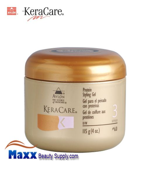 KeraCare Protein Styling Gel 4oz