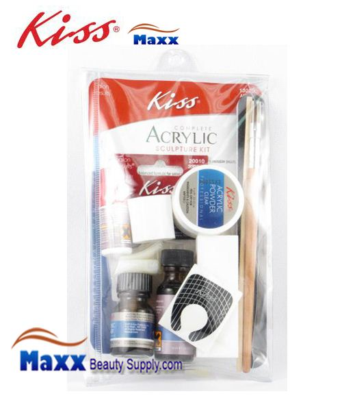 Kiss Salon Results Complete Acrylic Kit - AK100 Large : 13020