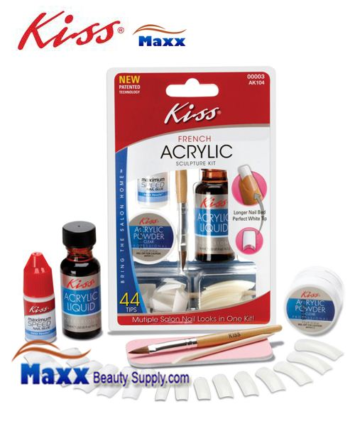 Kiss French Acrylic Sculpture Kit - AK104 : 00003