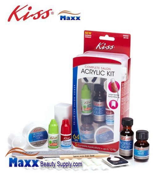 Kiss Acrylic Nail Kit Instructions: Kiss Complete Salon Acrylic Kit