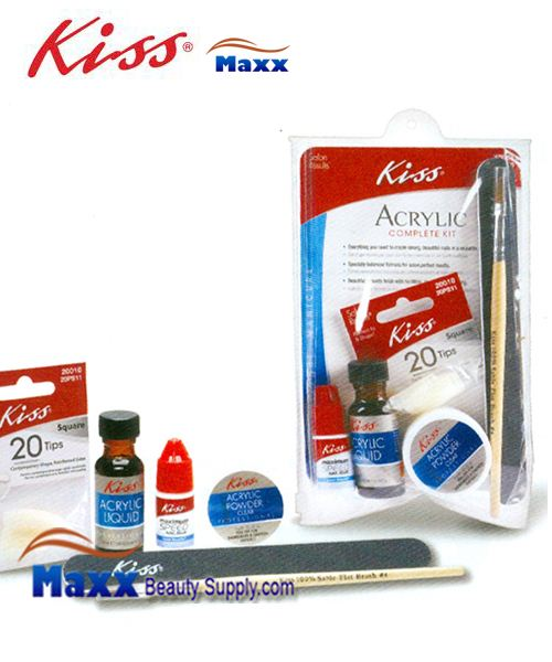 Kiss Salon Results Acrylic Complete Kit - AK450 Medium : 40001