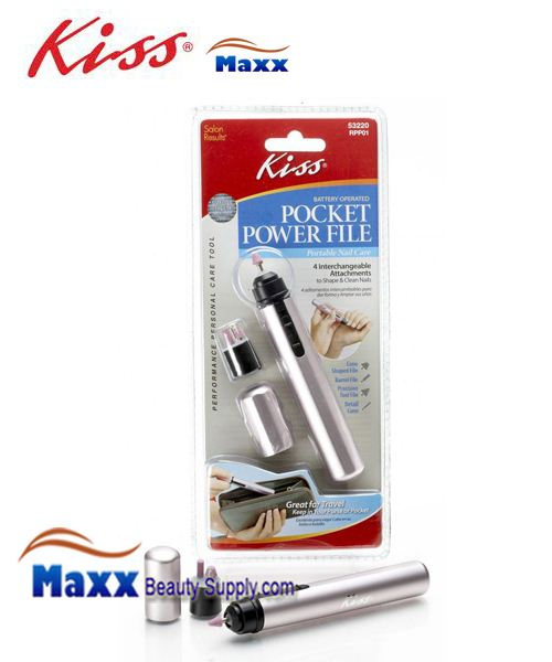 Kiss Power File Pocket Nail Care Kit - RPP01 : 53220