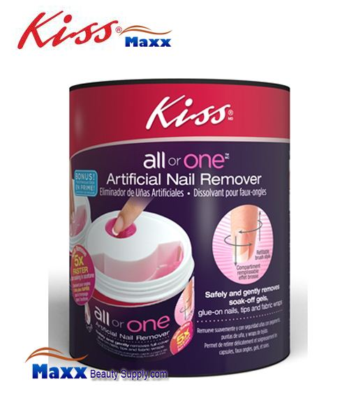 Kiss All Or One Artificial Nail Remover - PR01 : 00086