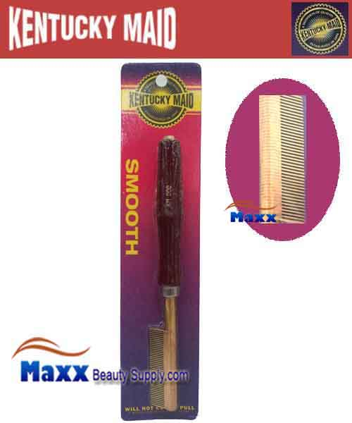 Kentucky Maid #SPKM 000 Smooth Pressing Comb - Very Fine Brass and Copper Spacers