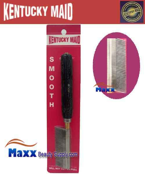 Kentucky Maid #SPKM 09 Smooth Pressing Comb - Medium Stainless Steel teeth and Spacers
