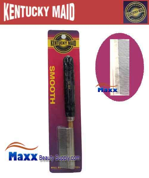 Kentucky Maid #SPKM 10 Smooth Pressing Comb - Fine stainless steel teeth and spacers