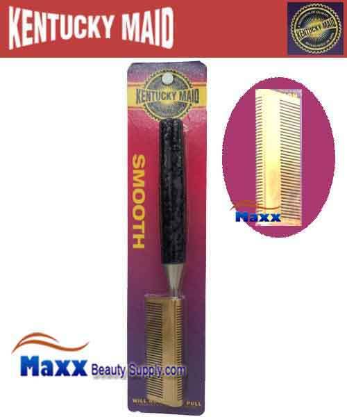 Kentucky Maid #SPKM 22 Smooth Pressing Comb - Double press straight teeth