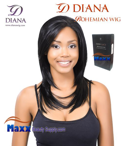 Diana Bohemian Lace Front Wig Syntetic Hair - Mimi