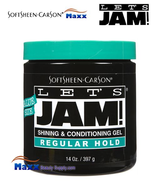 Let's Jam Shining And Conditioning Gel Regular Hold 14oz
