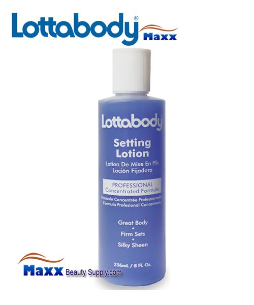 Lottabody Setting Lotion - Concentrated Formula 8oz - Bottle