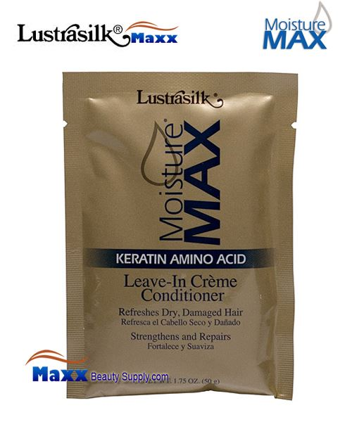 Lustrasilk Moisture Max leave-In Creme Conditioner 1.75oz - Pack