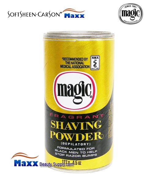 Softsheen & Carson Magic Shaving Powder Fragrant 4.5oz - Gold