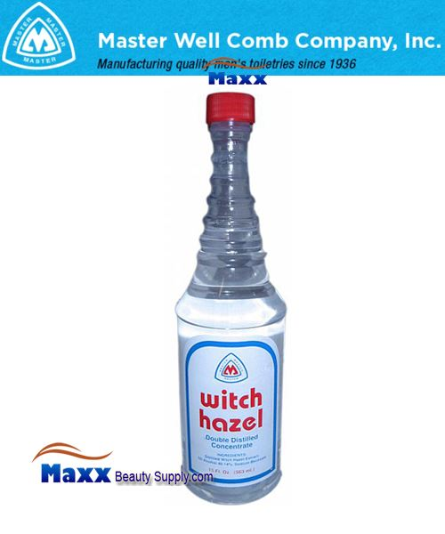 Master Well Comb WITCH HAZEL Double Distilled Concentrated 16oz - Bottle