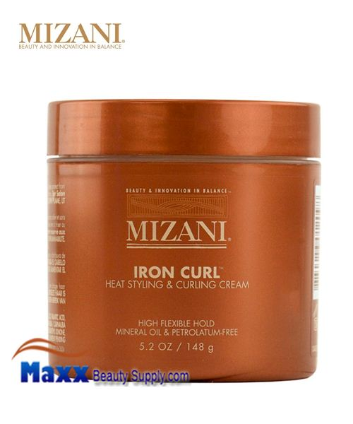 Mizani Iron Curl Heat Styling Curling Cream 5.2 oz