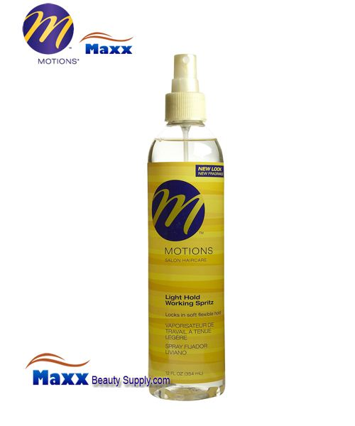 Motions Light Hold Working Spritz 12oz - Spray