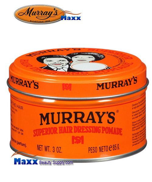 Murray's Superior Hair Dressing Pomade 3oz
