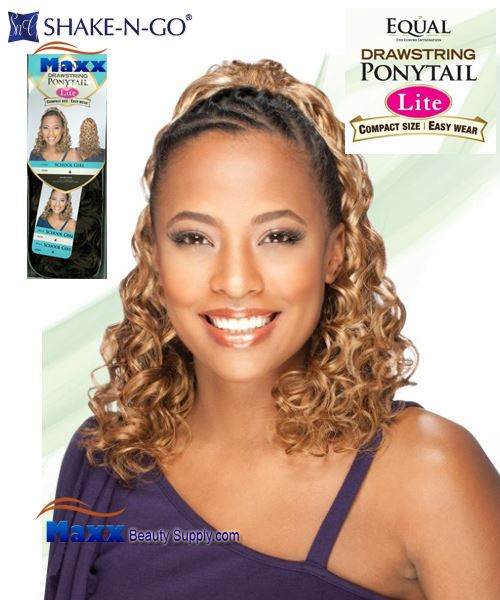 Freetress Equal Synthetic Hair Drawstring Ponytail Lite- School Girl