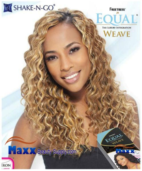 Freetress Equal Weave Synthetic Hair - Amazing Deep 18""