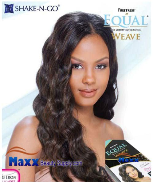 Freetress Equal Weave Synthetic Hair - Attrak 18""