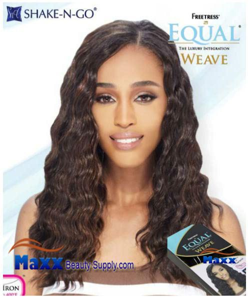Freetress Equal Weave Synthetic Hair - California Wave 18""