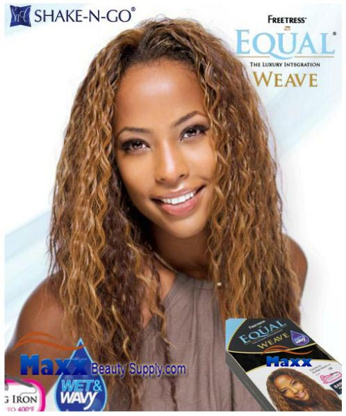 Freetress Equal Weave Synthetic Hair - French Super Wave 16""
