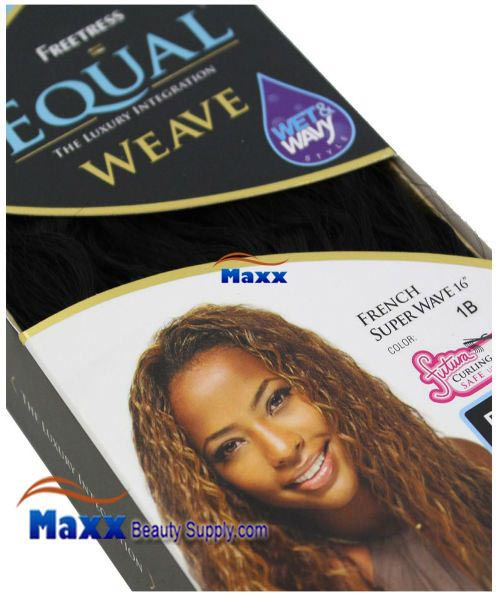Freetress equal weave synthetic hair french super wave 16 freetress equal weave synthetic hair french super wave 16 pmusecretfo Gallery
