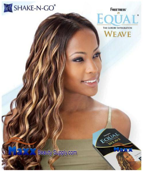 Freetress Equal Weave Synthetic Hair - Glamour 18""