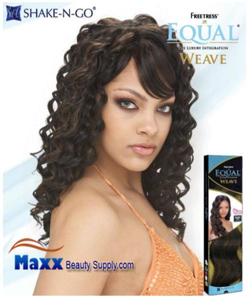 Freetress Equal Weave Synthetic Hair - Noble Deep 18""