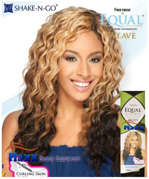 Freetress Equal Double Weave Synthetic Hair - Perfect Wave 4pc