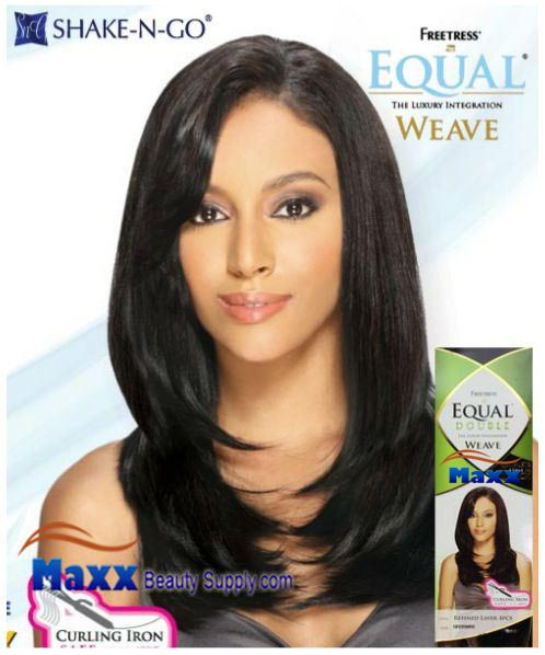Freetress Equal Double Weave Synthetic Hair - Refined Layer 4pc