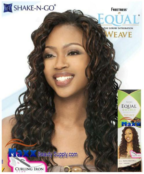 Freetress Equal Double Weave Synthetic Hair - Ripple Deep 4pc