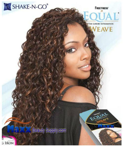 Freetress Equal Weave Synthetic Hair - Vogue 18""
