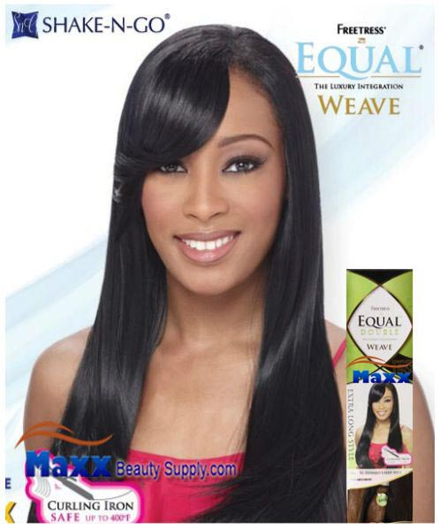 Freetress Equal Double Weave Synthetic Hair - XL Refined Layer 4pc