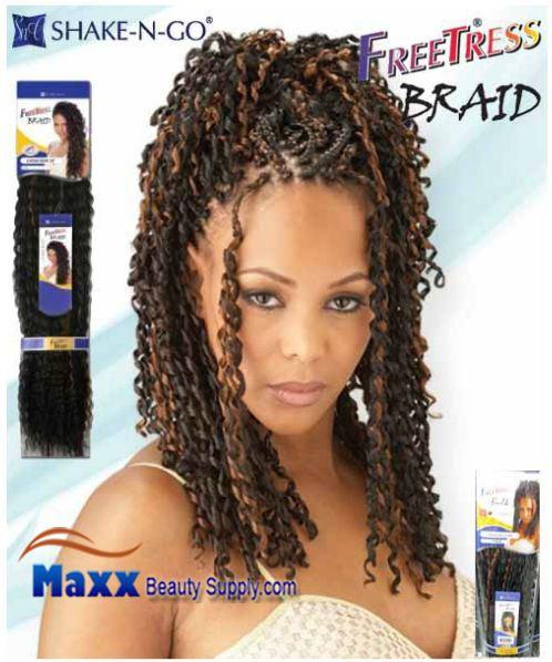 Freetress Premium Synthetic Hair Braid Tango Curl