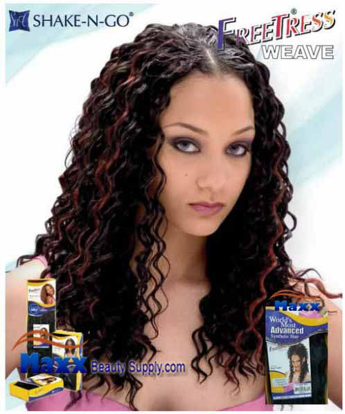 Freetress Premium Synthetic Hair Weave - Deep Twist 14""