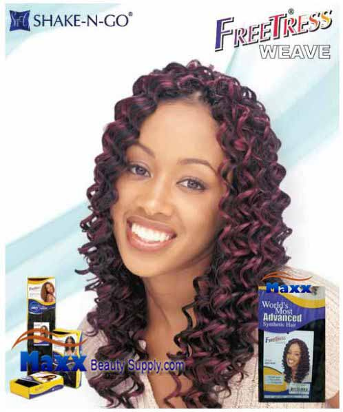 Freetress Premium Synthetic Hair Weave - Jazz Deep 14""