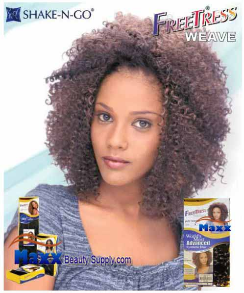 Freetress Premium Synthetic Hair Weave - Jazz Water 14""