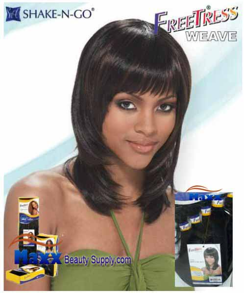 Freetress Premium Synthetic Hair Weave - Kelly Curl 6pcs