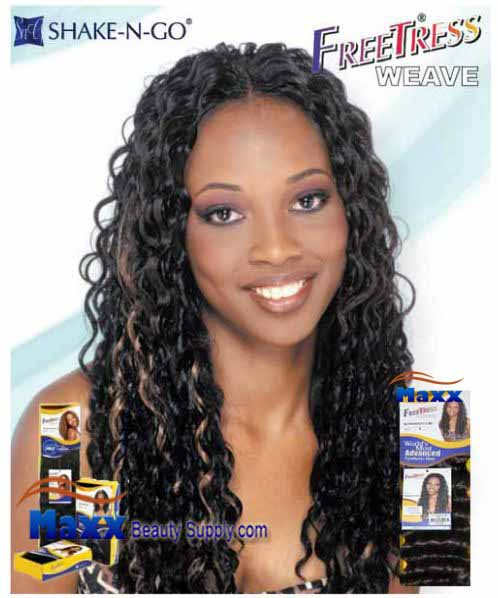 Freetress Premium Synthetic Hair Weave - Romano Curl 14""