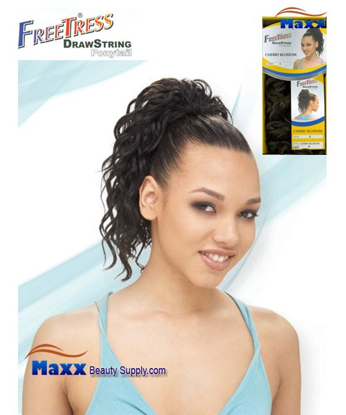 Freetress Drawstring Ponytail Synthetic Hair - Cherry Blossom