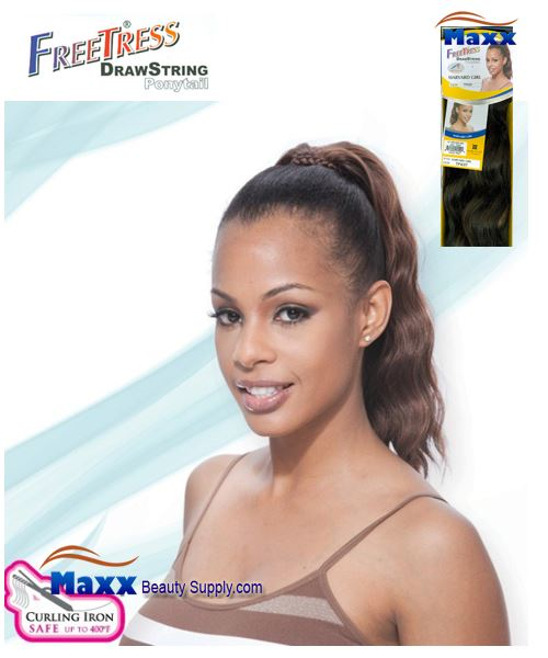 Freetress Drawstring Ponytail Synthetic Hair - Harvard Girl