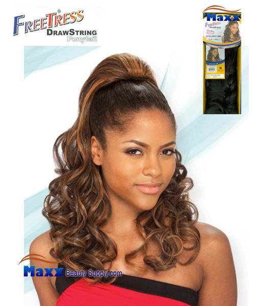Freetress Drawstring Ponytail Synthetic Hair - Holland Girl